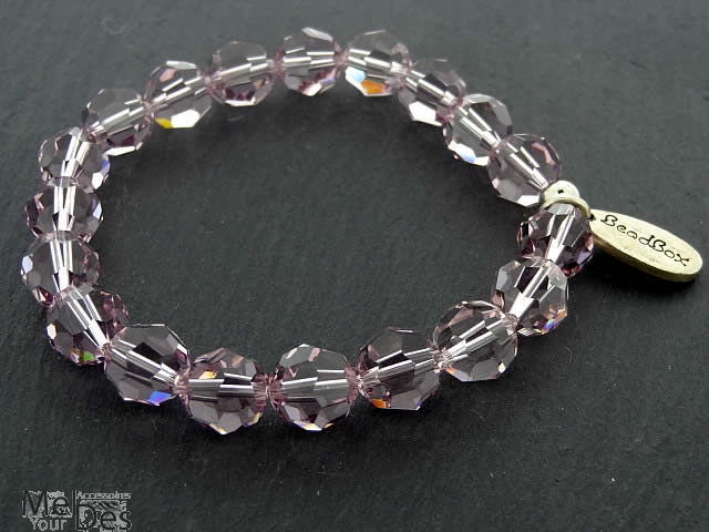 swarovski armband 10 mm in lilac shadow. Black Bedroom Furniture Sets. Home Design Ideas